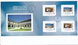 2 Livrets Prestige Abbaye De Fontenay (21) Et 1 Collector BOURGOGNE Avec Marques 1 Er Jour - France