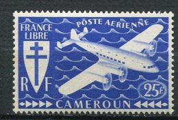 CAME - Yt. PA N° 16  *   25f   Série Londres  Cote  1,4  Euro  BE   2 Scans - Cameroun (1915-1959)