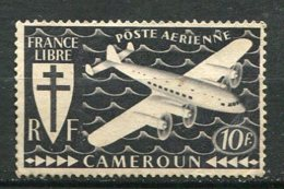 CAME - Yt. PA N° 15  *   10f   Série Londres  Cote  0,9  Euro  BE   2 Scans - Cameroun (1915-1959)
