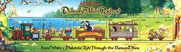 MWD-090503 MVT MINT PF/MNH ¤ Guyana 1999 ¤ RAILWAYS - THE WORLD OF WALT DISNEY - SILLY SYMPHONY - Disney