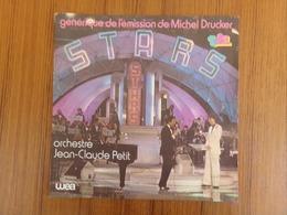 45 TOURS JEAN CLAUDE PETIT WEA 18436 GENERIQUE DE L EMISSION DE MICHEL DRUCKER STARS - Filmmusik