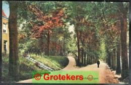 DEN HAAG Kanaalweg Den Haag-Scheveningen 1917 Met Grootrond TREINSTEMPEL 's-Gravenhage-Gouda II - Den Haag ('s-Gravenhage)
