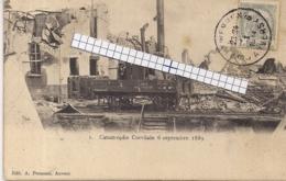 "AUSTRUWEEL-OOSTERWEEL-ANTWERPEN "" RAMP VAN CORVILAIN-6 SEPTEMEBR 1889-MUNITIEFABRIEK TUSSEN LEFEBVREDOK EN DROOGDOK""NR1 - Antwerpen"