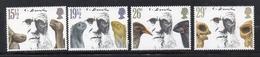 APR2565 - GRAN BRETAGNA 1982 , Unificato Serie 1023/1026  *** MNH (2380A) Darwin - 1952-.... (Elisabetta II)