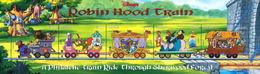 MWD-090505 MVT MINT PF/MNH ¤ GUYANA 1999 ¤ ROBIN HOOD - RAILWAYS - THE WORLD OF WALT DISNEY - SILLY SYMPHONY - Disney