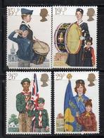 APR2566 - GRAN BRETAGNA 1982 , Unificato Serie 1039/1042  *** MNH (2380A) Scout - 1952-.... (Elisabetta II)