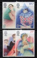 APR2567 - GRAN BRETAGNA 1982 , Unificato Serie 1043/1046  *** MNH (2380A) Europa Cept - 1952-.... (Elisabetta II)