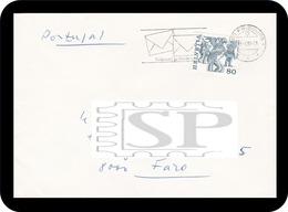 1985 Switzerland Fribourg Ecris-Moi, Je T'ecriré Suisse Vogel Gryff Basel Helvetia Escribir Write Schreiben - Post