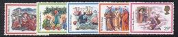 APR2568 - GRAN BRETAGNA 1982 , Unificato Serie 1062/1066  *** MNH (2380A) Natale Christmas - 1952-.... (Elisabetta II)