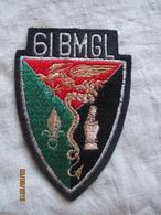Légion étrangère écusson Patch 61 BMGL - Blazoenen (textiel)