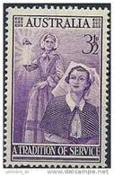 1955 AUSTRALIE 223**  Nightingale, Femme - Mint Stamps