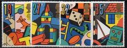APR2572 - GRAN BRETAGNA 1989 , Unificato Serie 1378/1381   *** MNH (2380A)  Europa - 1952-.... (Elisabetta II)