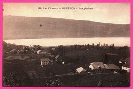 Menthon Saint Bernard - St - Lac D'Annecy - Vue Générale - Annecy
