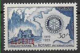 1955 ALGERIE 328** Rotary, Tracteur - Ongebruikt