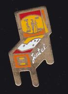 59680- Pin's.Flipper.jeux De Bistrot.Jeutel - Jeux