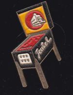 59681- Pin's.Flipper.jeux De Bistrot.Jeutel. - Jeux