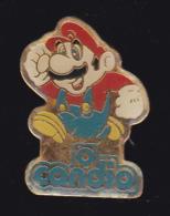 59685- Pin's.Mario Bros. . Jeu D'arcade . Nintendo.Candia - Jeux