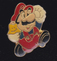 59687- Pin's.Mario Bros. . Jeu D'arcade . Nintendo.signé Ferrier. - Jeux