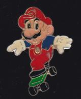 59690- Pin's.Mario Bros. . Jeu D'arcade . Nintendo. - Jeux
