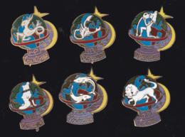 59696-lot De 6  Pin's.Astrologie.. - Jeux