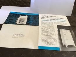 Publicité Frigidaire Vous Présente Une Conception Entièrement Nouvelle Réfrigérateur électrique Frigidaire - France