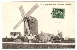 LA CHAPELLE ST MARTIN (41) - La Chapelle-Saint-Martin-en-Plaine - Moulins De Morvilliers - MOULIN À VENT - Ed. Vannier - Other Municipalities