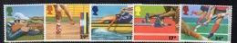 APR2576 - GRAN BRETAGNA 1986 , Unificato Serie 1232/1236   *** MNH (2380A)  Sport - 1952-.... (Elisabetta II)