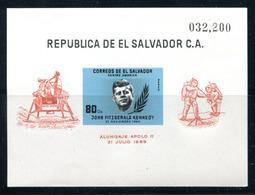 El Salvador C214   John F Kennedy    Mnh  Souv Sheet - El Salvador