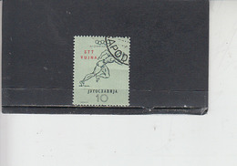 JUGOSLAVIA  1952 - Olimpiade Helsinki - Usati