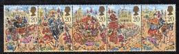 APR2577 - GRAN BRETAGNA 1989 , Unificato Serie 1409/1413   *** MNH (2380A) - 1952-.... (Elisabetta II)