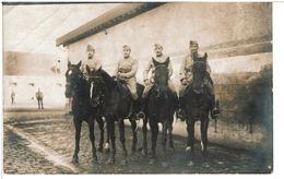FONTAINEBLEAU - CARTE PHOTO CAVALIERS ( 28.12.1920 ) Régiment à Identifier - Fontainebleau