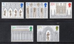 APR2579 - GRAN BRETAGNA 1989 , Unificato Serie 1414/1418   *** MNH (2380A)  Natale Christmas - 1952-.... (Elisabetta II)