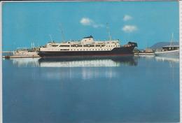 FERRY - BOAT SVETI STEFAN,  Djursland, Le Bac, Il Traghetto -  In Service Between BAR Montenegro - BARI Italy 1966 - Ferries