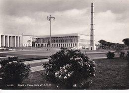 ROMA EUR - PIAZZA ITALIA - OBELISCO - NUOVI PALAZZI - 1959 - Expositions