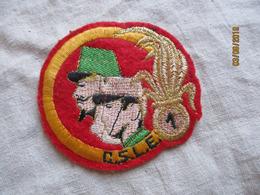 Légion étrangère écusson Patch 1 CSLE - Blazoenen (textiel)