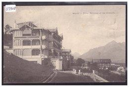 DISTRICT D'AIGLE - LEYSIN - HOTEL BELLEVUE - TB - VD Vaud