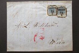 Austria(?): 1853 Folded Letter To Wien (#TS1) - 1850-1918 Empire