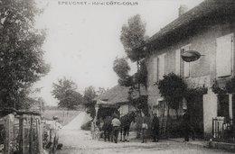 CPA De EPEUGNEY (Doubs) - Hôtel Cöte-colin. Circulée En 1905. - Francia