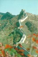 Cina, La Grande Muraglia, Scorcio Panoramico Autunnale - Cina