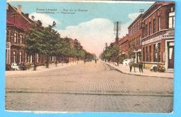 "Leopoldsburg (Bourg-Léopold)-1932-Statiestraat-Rue De La Station-""Hôtel Verpoorten Du Chemin De Fer""-Timbre Taxe TX38 - Leopoldsburg"