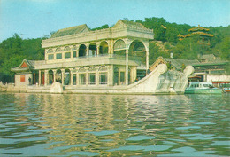 Pechino (Beijing, Cina) Palazzo D'Estate, Il Battello Di Marmo - Cina