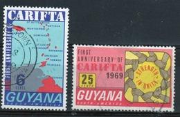 Guyana 1969 Set Of Stamps To Celebrate Carifta. - Guyana (1966-...)