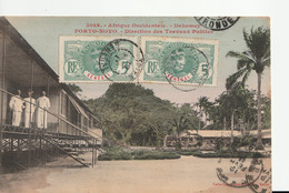 Afrique Occidentale , Dahomey ,  Porto Novo , Direction Des Travaux Publics - Dahomey