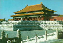 Pechino (Beijing, Cina) Palazzi Imperiali, La Sala Della Suprema Armonia - Cina