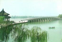 Pechino (Beijing, Cina) Palazzo D'Estate, Il Ponte A Diciassette Archi - Cina
