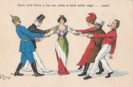 Cartolina- Postcard /  Non  Viaggiata - Unsent /   Come Torre Ferma....... - Patriottiche