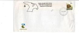 NOUVELLE ZELANDE 1996 OBLITERATION DE RAOUL ISLAND - Neuseeland
