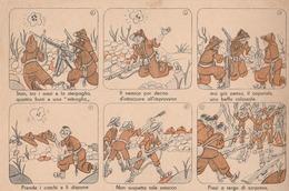 Cartolina In Franchigia Militare  - Postcard /    Viaggiata - Sent /   1942 - Fumettistica - 1900-44 Victor Emmanuel III