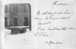 Carte-Photo De Montbéliard (Doubs) - Place D'Arènes. Dos Simple.  Circulée En 1902. Bon état. - Montbéliard