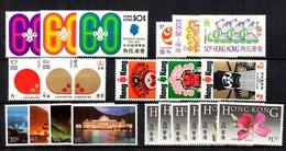 Hong-Kong Six Bonnes Séries Neuves ** MNH 1971/1985. TB. A Saisir! - Hong Kong (...-1997)